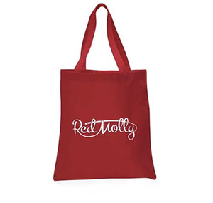 Red Molly Tote Bag